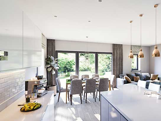 Beautiful new build homes in Leamington and Warwickshire
